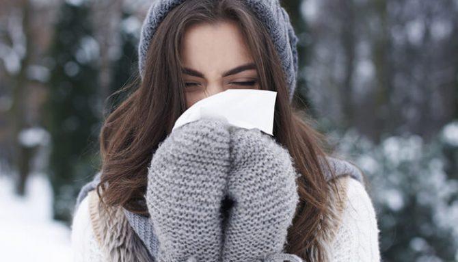 Alergie na chlad. Jaké jsou její příznaky a co to vlastně je?
