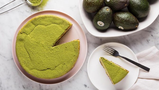 Fit cheescake s matcha čajem