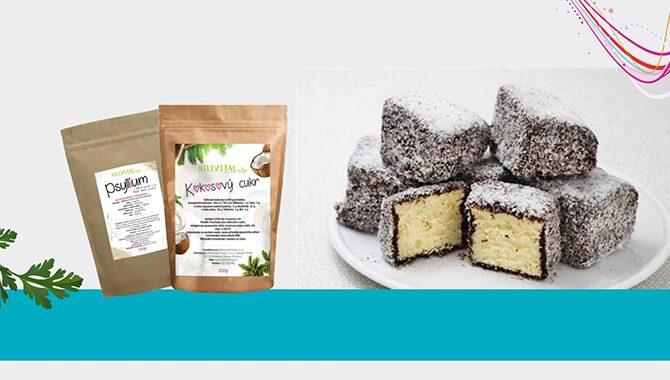 FIT KOKOSOVÉ KOSTKY s použitím psyllia a kokosového cukru